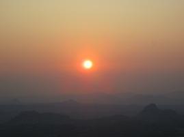The beuatiful sunrise