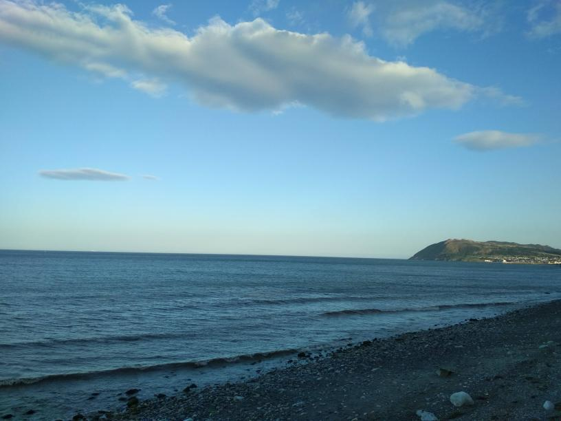 Mesmerizing view of Atlantic at Dun laoghaire